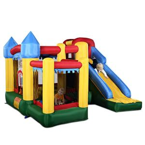 Inflatable Bounce House Castle Jumper Moonwalk Slide Bouncer Kids Jumper with Balls