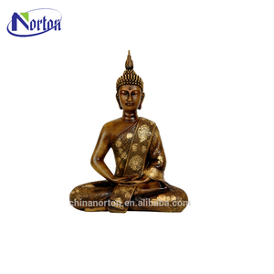 Hot sale high quality antique gold color Thailand buddha statue NT-BS362K
