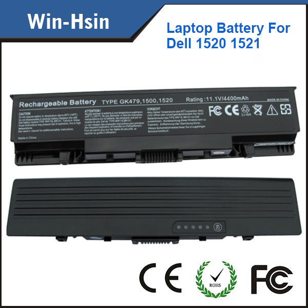 Price v 6 Cell laptop computer battery for dell Inspiron 1520 1521 1720 1721 pp22l PP22X GK479 18650 battery