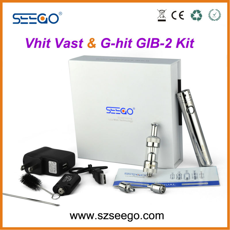 New revolution ! New products ! seego stainless steel Vhit Vast+GIB-2 stainless steel nimbus vaporizer