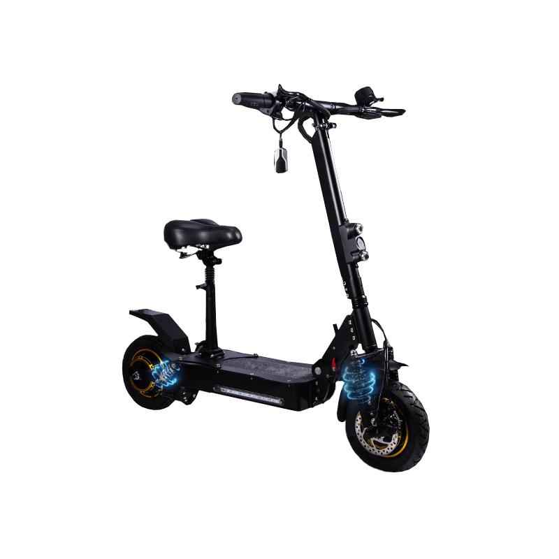 New arrival wholesale 2000W 60V dual motor 10 inch fat tire electric scooter adult