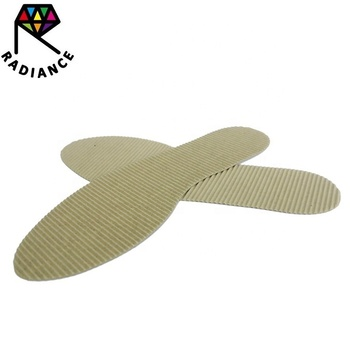 Disposable Paper Insole Paper Shoe Pad Sweat-absorbent Insole