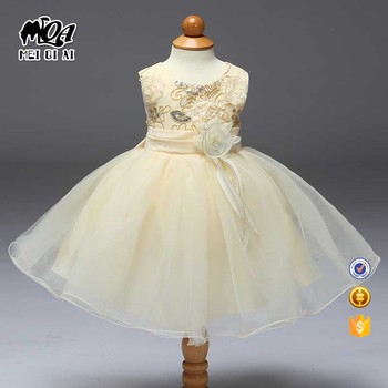 2017 New arrival hot sale 3-8 years kids clothing flower girl gowns ...