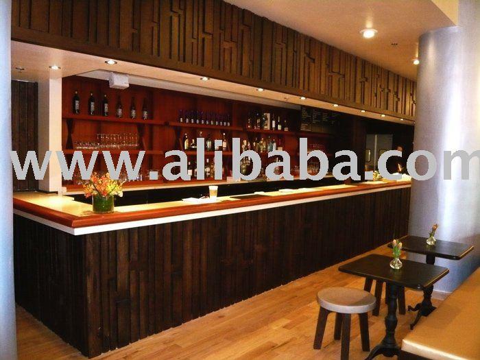 Diseño de interiores y muebles hechos a medida para bar y restaurante