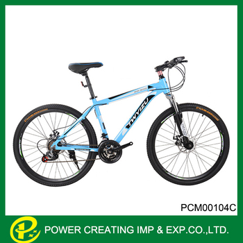 Bule-white Design Carbon Frame 26inch Mountain Bicycle - Buy Carbon ...