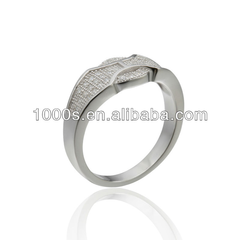 titanium silver 316l stainless steel rings