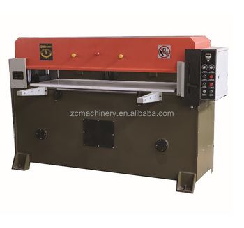 foam latex makeup die cutting press machine