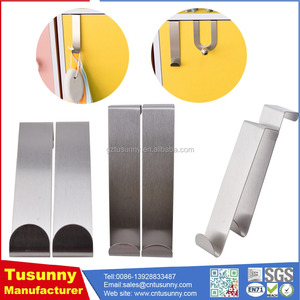Cabinet Hanger stainless steel over door towel holder stainless steel drawer hook