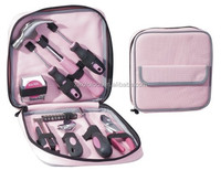 19pcs pink tool set for women purple tool kit ladies diy tool kit with bag
