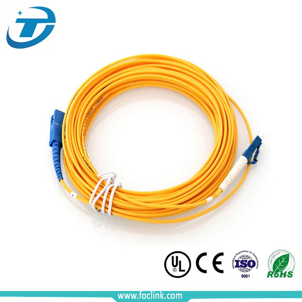 Wholesale lc patch cable single mode LC to SC fiber optic patch cord cable