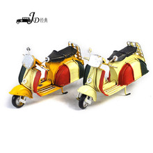 Latest Arrival custom design handmade decorative antique motorcycle models directly sale