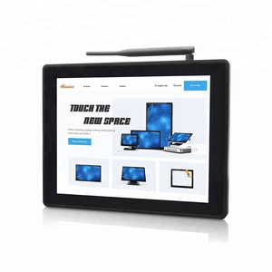 All-In-One Industrial 12.1 inch Panel Mount Touchscreen Computer runs win 10