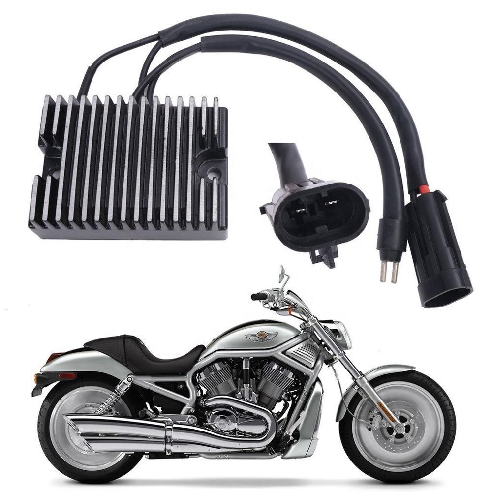 Harley Davidson 12 V Black Voltage Regulator//Rectifier for Sportster XL 74523-04