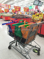 Reusable Polyester Grocery Bag for Shopping Trolley/ cart