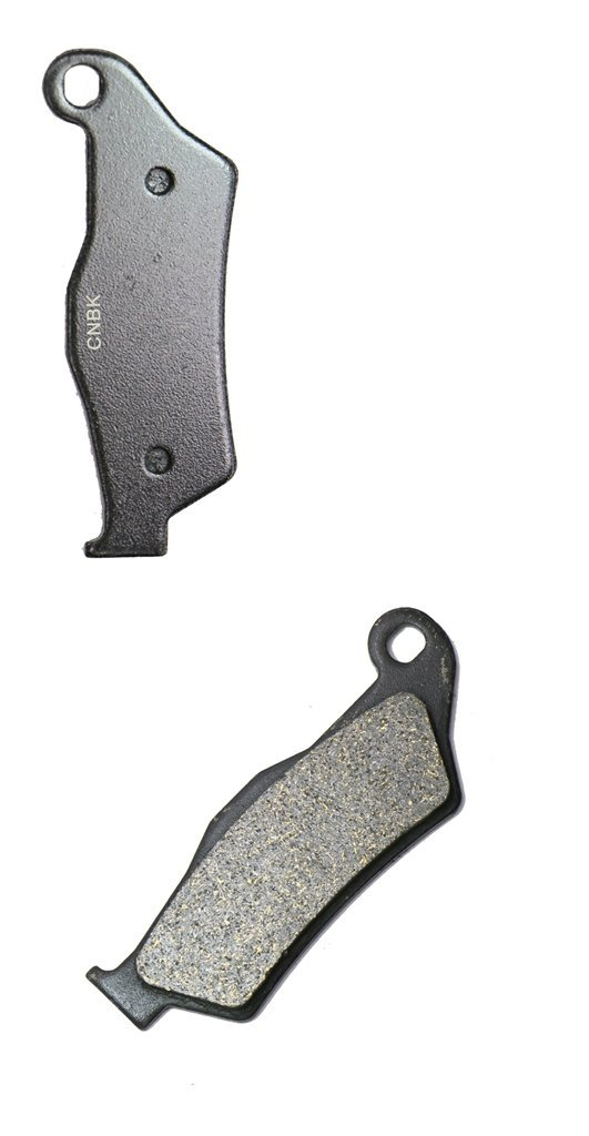 CNBK Front Brake Shoe Pads Semi-met fit for KTM Dirt Bike XC-F505 XCF505 XC-F 505 09 10 11 12 13 14 15 2009 2010 2011 2012 2013 2014 2015 1 Pair(2 Pads)