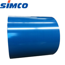 Color coated steel coil PPGL metal used for roofing made in China