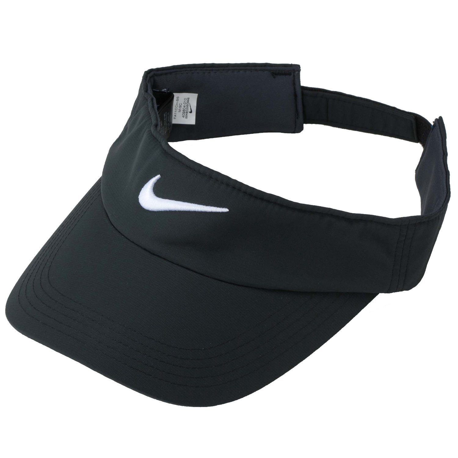 Get Quotations · Nike Golf Tech Visor (Black White) 8af20c0ae50