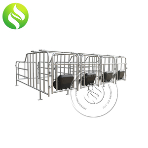 Hot dip galvanized steel tube sow limited stall/gestation pen crate