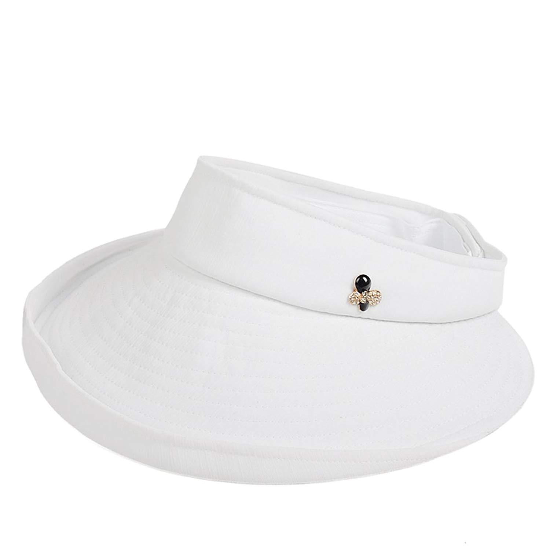 6dc5b0e1905 Get Quotations · KTYX Women s Sun Hat Outdoor Topless Foldable Sun Hat  Beach Hat Bike Sun Hat Summer Hat