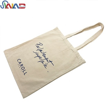 Custom private label organic beauty tote cotton tote bags
