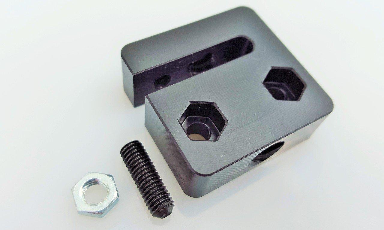OpenBuilds Anti-Backlash Nut Block for 8mm Metric Acme Lead Screw