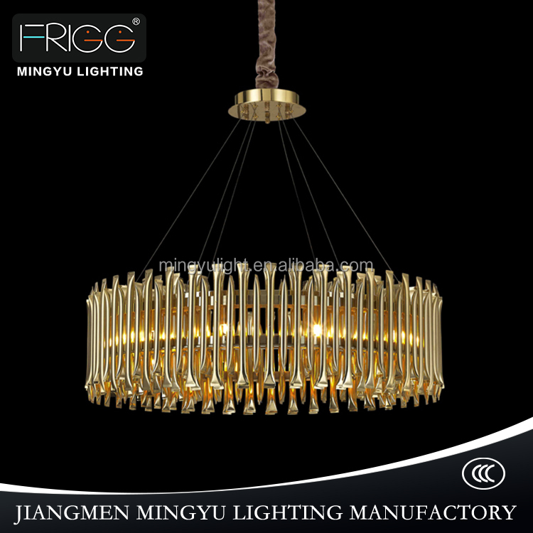 pendent light vintage Fancy copper Ceiling lamp chandeliers for home