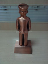 Bronce muchacho escultura