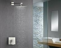 Bathroom accessories wall mounted shower faucet and rainfall set