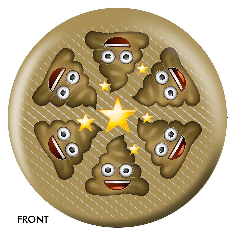 Emoji Poo Happens Bowling Ball