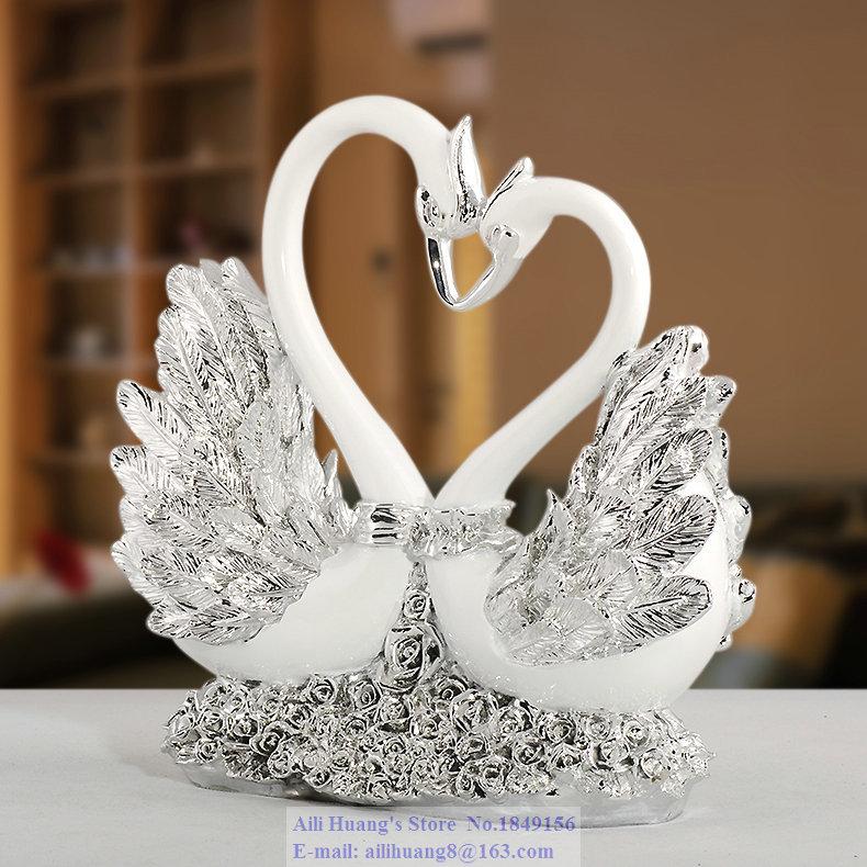 A80 Rose Heart Swan Couple Swan Wedding Gift Ideas Wedding