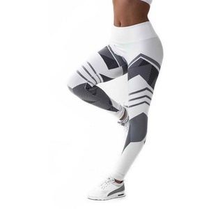 Factory OEM Top Quality Fitness Yoga Pants Hip High Waist Sports Digital Printing Leggings