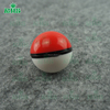Beautiful colors red ,white and black poke ball silicone container for wax