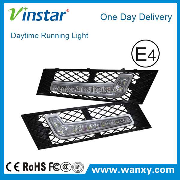 hot sale and good quality CAR-Specific auto drl light for BMW F10 Sedan