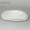 White ceramic dishes