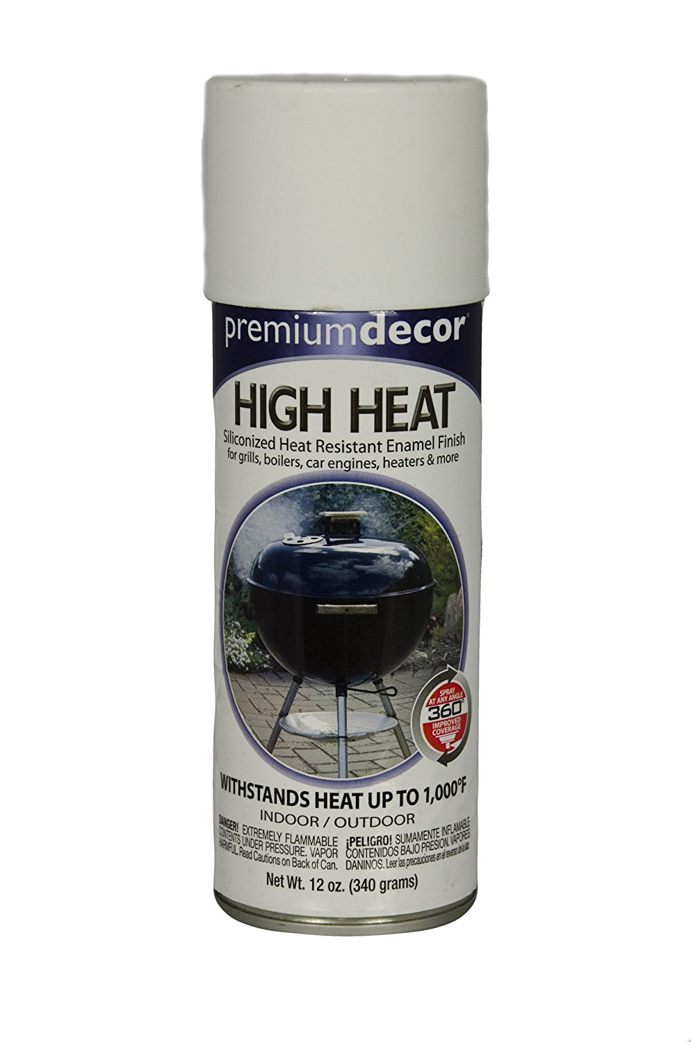 Get Quotations General Paint Manufacturing Pd 1551 Premium Decor High Heat Spray With 360