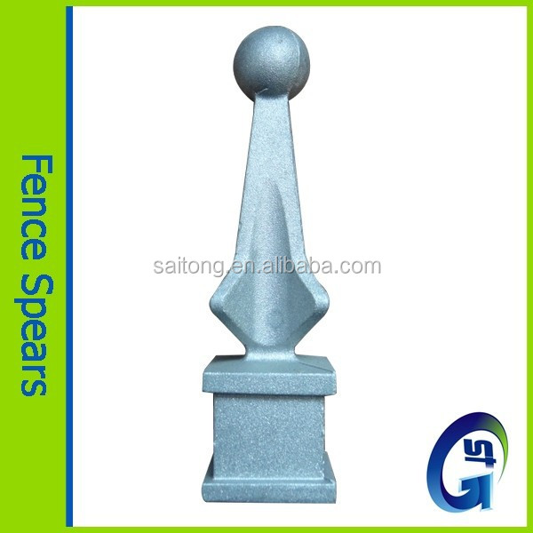 Gate fence pickets fence post finials