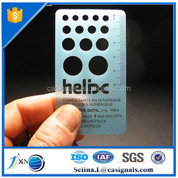 Cheap metal business card with ruler scale buy cheap metal cheap metal business card with ruler scale colourmoves