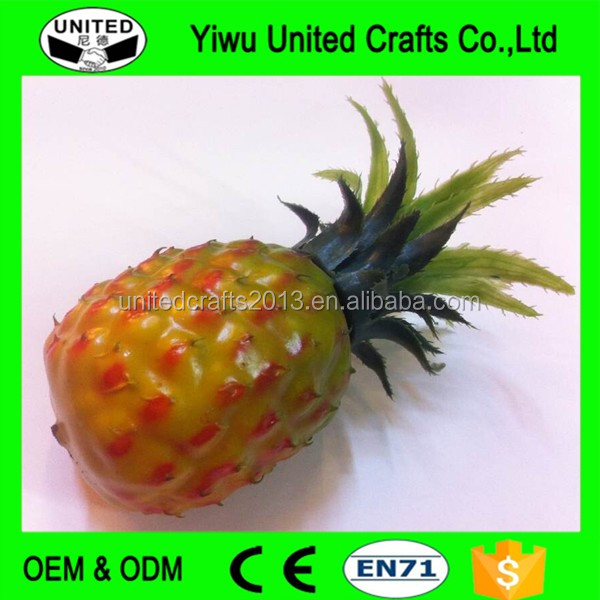 Decorative Fake Fruit Popular Artificial Pineapple For Display Buy