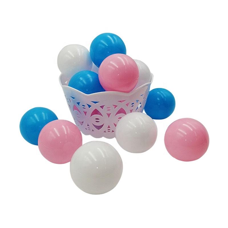 Commercio all'ingrosso cestino di plastica per bambini oceano palla giocattolo con di alta qualità