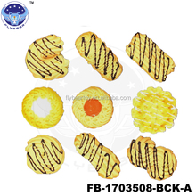 hot sale butter cookies Fake cheese sauce looks real simulated food promotional gift models
