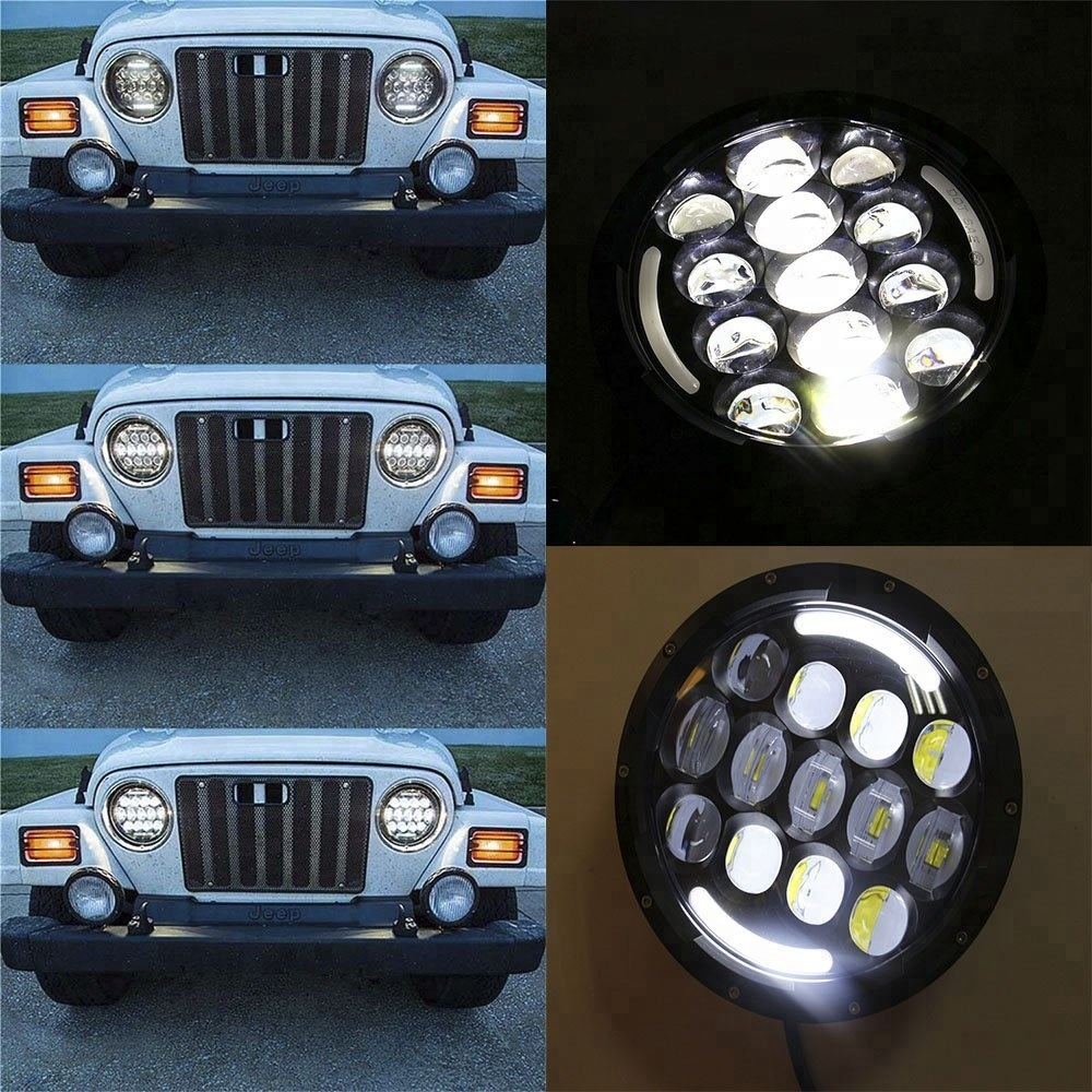 Dot approved 7 inch car led projector headlight H4 H13