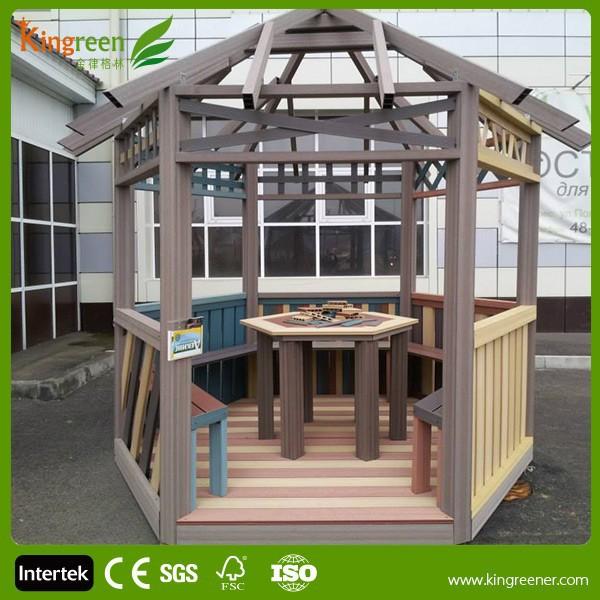 decorar su suelo compuesto de madera yardas con el roble