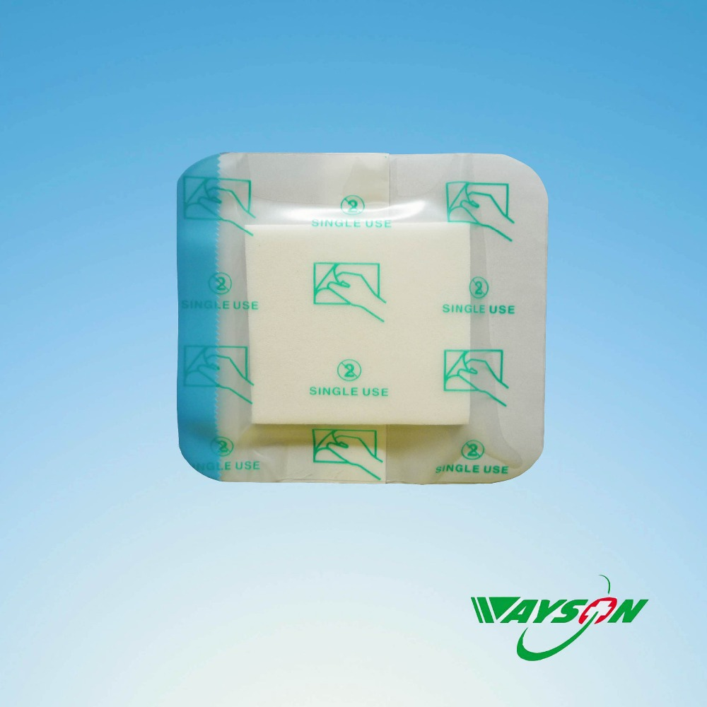 High Quality Medical Advanced foam Wound Dressing Material,foam cut wound dressing,surgical foam dressing