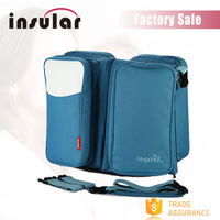 Wholesale 4 In 1 Travel Baby Foldable Diaper Bag Baby Bed Diaper Cloth Bag
