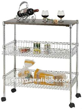 Kitchen Cart For Fruits And Vegetables - Buy Kitchen Cart,Push Carts,Wire  Kitchen Cart Product on Alibaba.com
