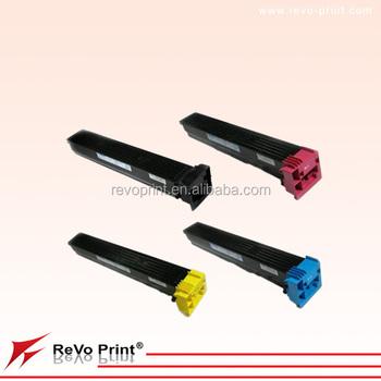 Km Tn-711/tn711/711 Cmyk Toner Cartridge Used For Bizhub C654,C754 ...