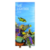 high quality led crystal trade frame show light advertising display seg portable lightbox