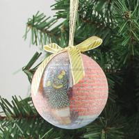 polyfoam Christmas ball popular sale 6 personalized foam christmas decoration