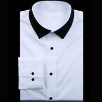 TOP SALE custom design formal men silk shirts directly sale