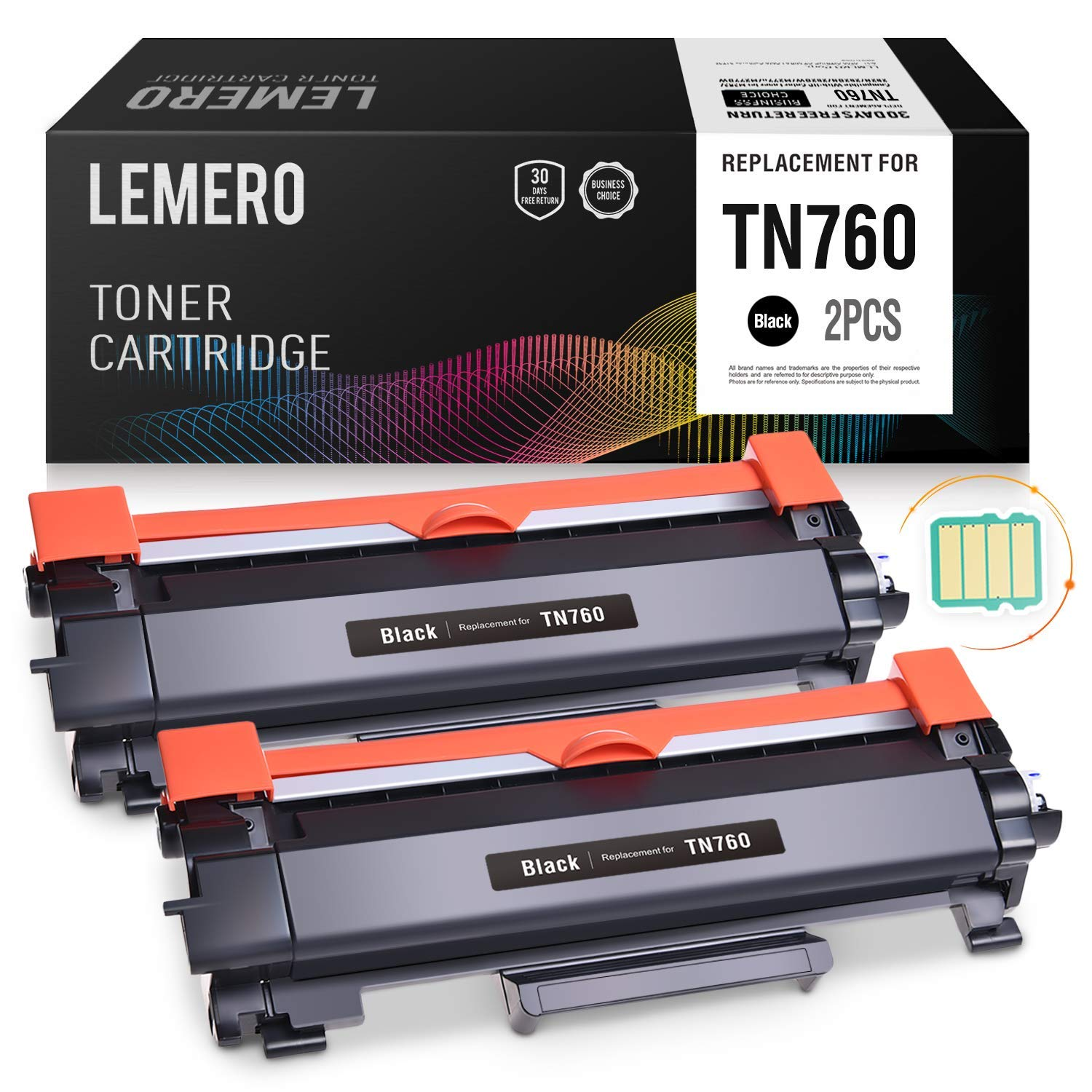 TN-770-3 Pack Supply Spot Compatible TN770 Black Toner Cartridge